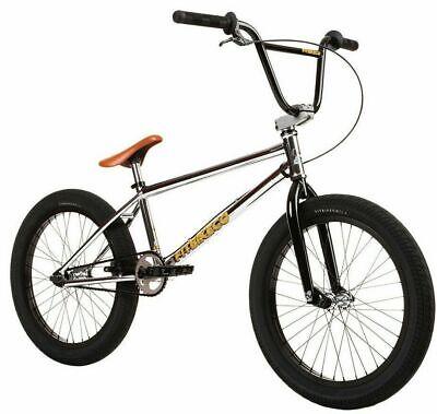 BMX Bicycle Chrome Freestyle 872-22.2mm @ mount Cruiser Chopper Lowrider Bike