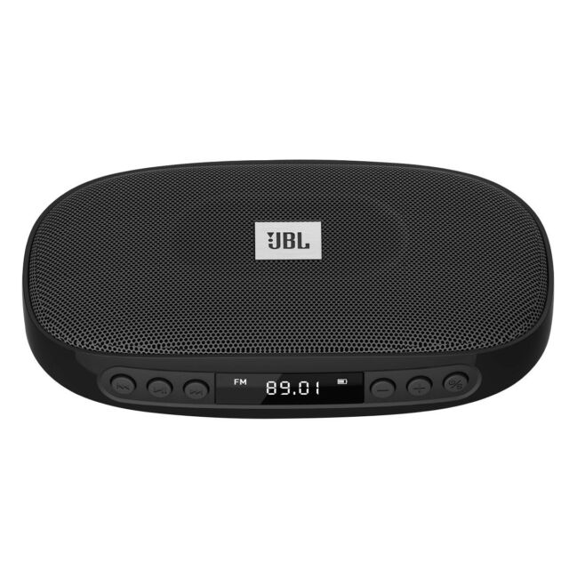 JBL TUNE BLUETOOTH SPEAKER+AUX IN & OUT+FM+MICRO SD+LED DISPLAY+SPEAKERPHONE