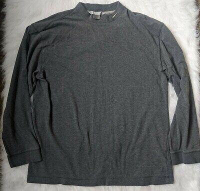 Inactividad Fe ciega Mathis  Nike Grey 3/4 Sleeve Shirt Men's Size Large | eBay