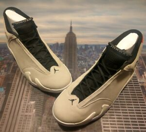 722c607781a2 Nike Air Jordan XIV 14 Retro Desert Sand Black-White Mens Size 8 ...