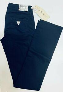 Pantalone-Donna-GUESS-Taglia-26-Jeans-Woman-Pants-col-Blu-SLIM-FIT-W01125