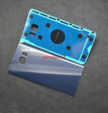 OEM Samsung Galaxy Note 5 Rear Panel Back Cover Glass Replacement Part-Blue