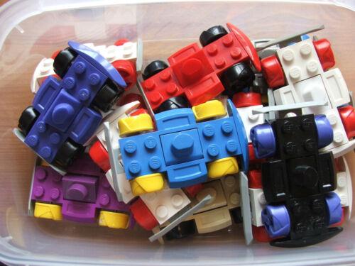 LEGO Bausteine & Bauzubehör 3 x Lego Random Car Go Kart Vehicle Base Chassis Build Your Own Custom Racers