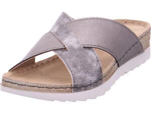 Jana Pantofole donna ciabatte grigio da sandali pantolette con da AABFTHxq