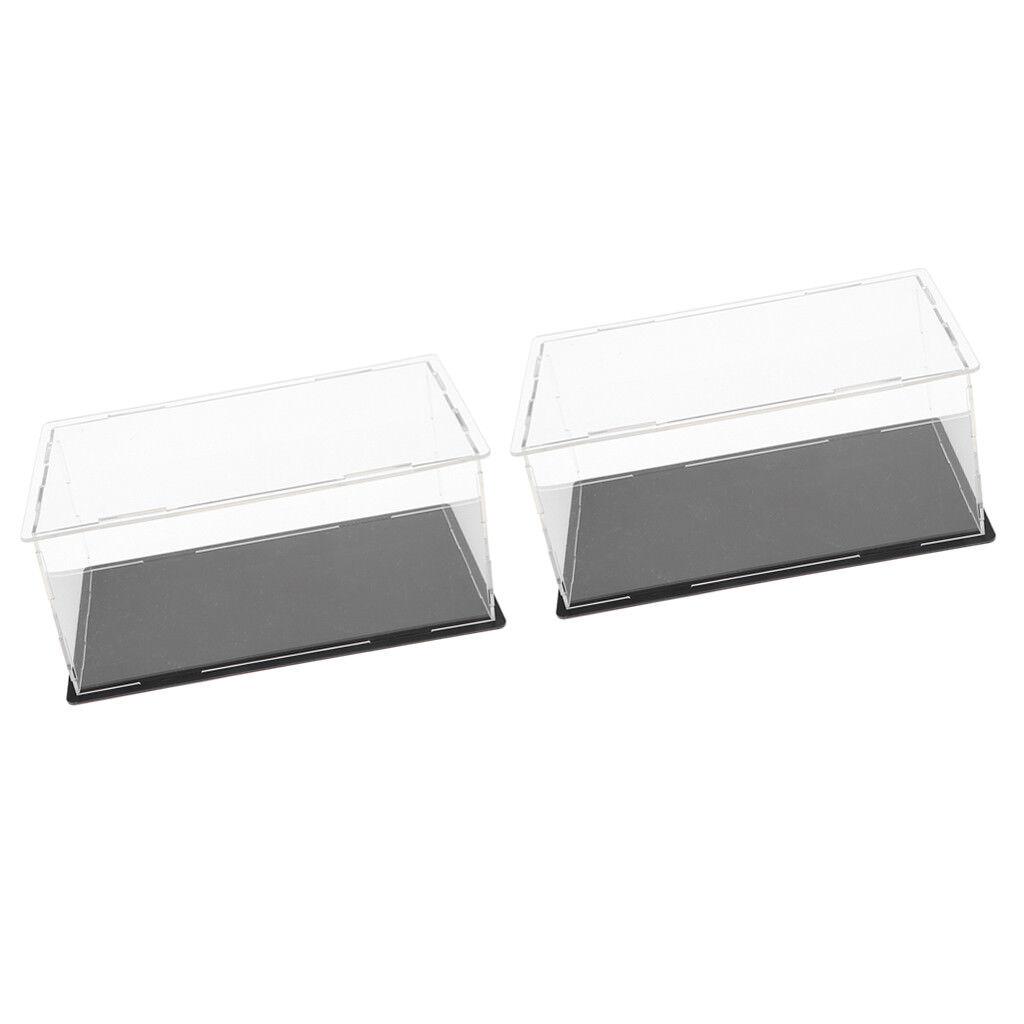 Magideal 20  Pcs Clair Acrylique Vitrine Plexiglas Box pour figure  acheter 100% de qualité authentique