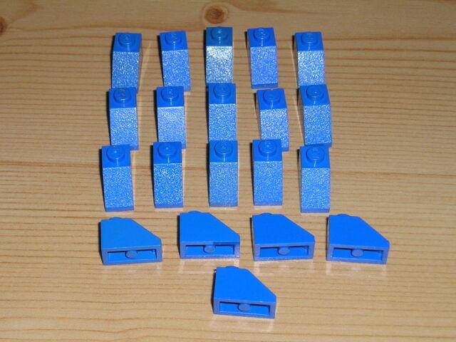 Lego 20 x Dachstein 3040 neu hellgrau  45°  2x1