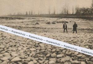 Istein - Stromschnelle in Wassernot - um 1935 - selten - R 7-15