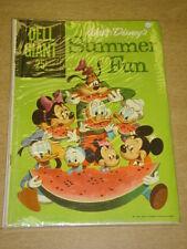 DELL GIANT COMICS #2 VG (4.0) WALT DISNEY SUMMER FUN AUGUST 1959
