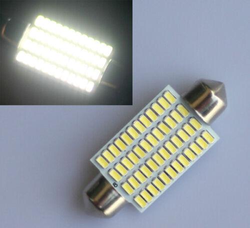 3 Stück 42mm POWER LED 48 SMD Soffitte Innenraumbeleuchtung 12V Deutsche Post