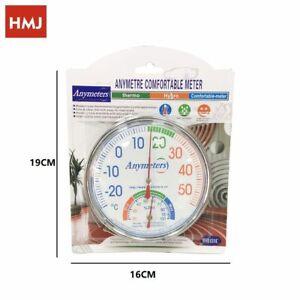 Termometro-Igrometro-Analogico-Interno-Esterno-Temperatura-Umidita-039-hmj