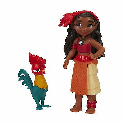 Disney Moana of Oceania Mini PVC Doll /& Pua Pig Figure New Hasbro