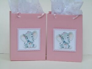 Details About 10 Baby Shower Favors It S A Party Elephant Favor Bags
