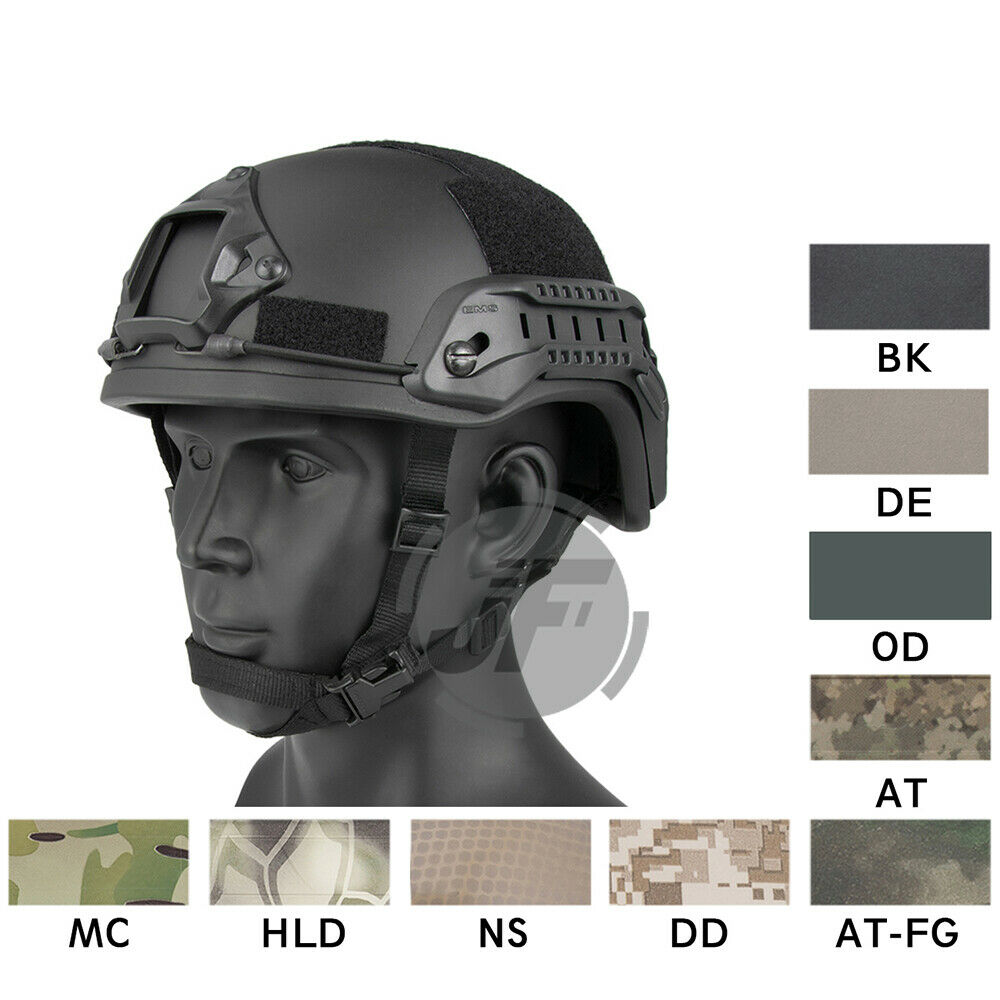 Emerson Tactical  ACH MICH 2001 TC-2001 Helmet Head Predector with NVG Shroud  guaranteed