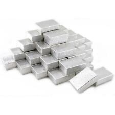 36 Silver Charm Cotton Boxes Showcase Gift Case Display