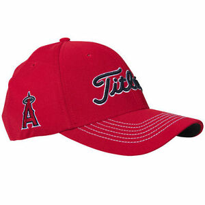 Image is loading New-Titleist-MLB-Fitted-Anaheim-Angels-Golf-Cap- 4f65b148d