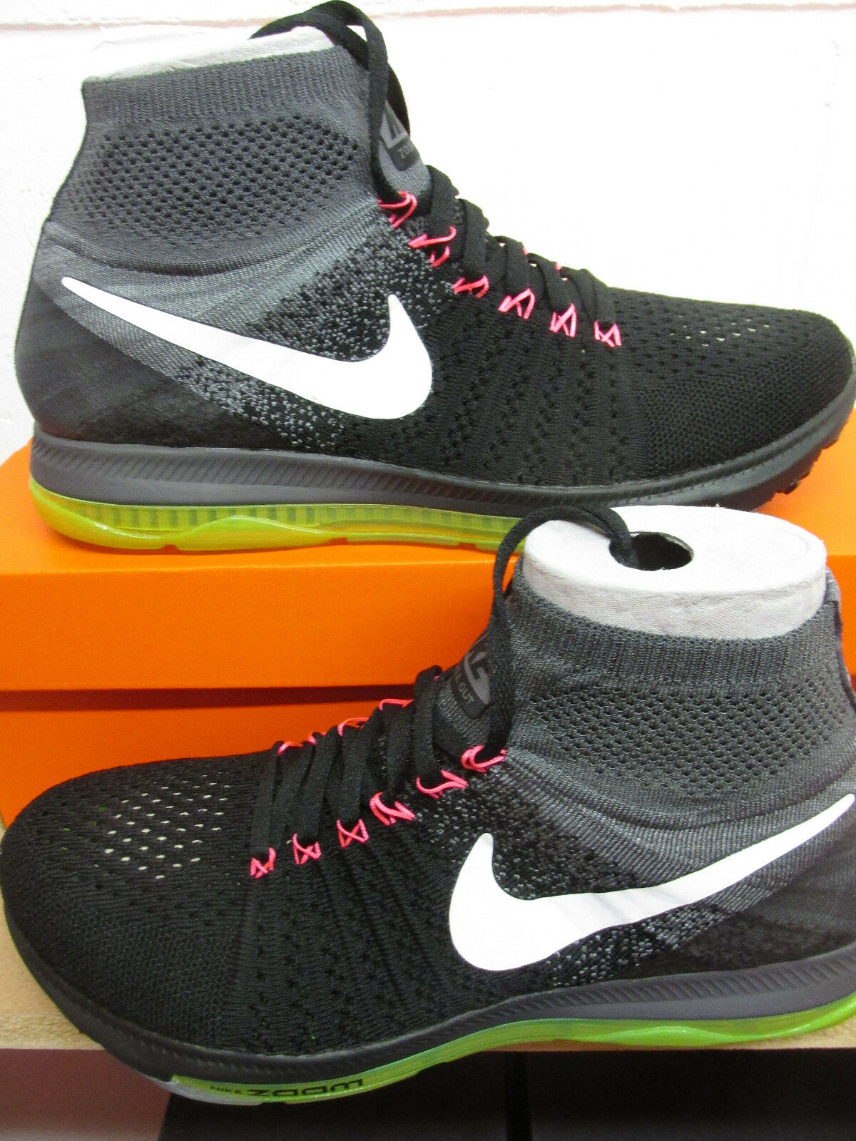 hot sale online 3d968 92061 Nike Zoom All Out Flyknit homme fonctionnement Trainers Trainers Trainers  844134 002 Baskets chaussures 0db126