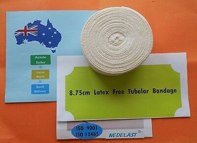 1 x 10M Size E (8.75cm)  Tubular Support Compression Bandage-Washable-LatexFree