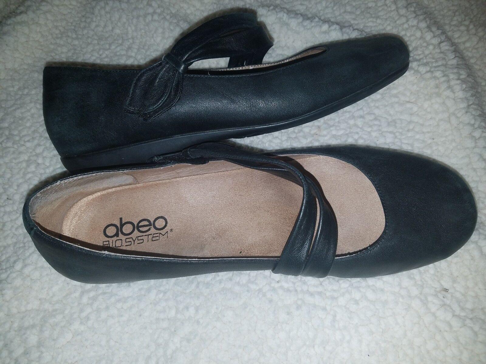Abeo 10 n Tiana Mary Jane Zapatos Vlack Vlack Vlack Cuero Ballet Zapatos sin Taco Sin Ortopédico Confort  Precio al por mayor y calidad confiable.