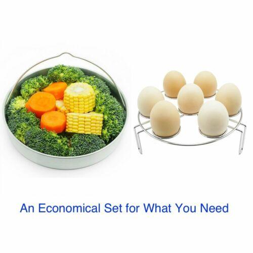 6 Dish Clip for 5 Divider 8 Qt Instant Pot Egg Steamer Rack Steamer Basket
