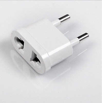 5pcs Travel Charger Wall AC Power Plug Adapter Converter US USA to EU Europe WB