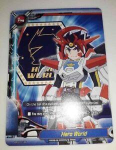 Bushiroad Future Card Buddyfight Hero World Flag PR//0140EN Near Mint