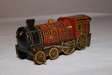 1920's Made in Germany Penny Toy, Tin Train Locomotive Engine