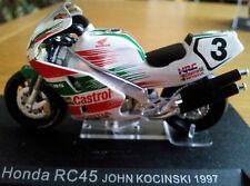 Ixo 1:24 Motorbike Honda RC45 John Kocinski 1997 - Rare