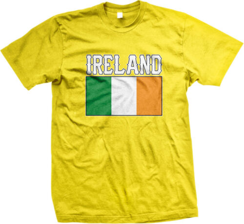 Ireland Flag Irish Pride Soccer Rugby National Pride Mens T-shirt