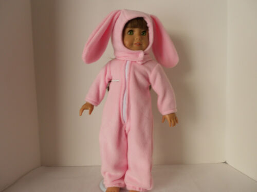"""Adorable Bunny Outfit for American Girl or any 18/"""" doll"""