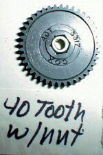 40 Tooth Ultra Thin Hi Performance Spur Gear by COX #3317 with Thrust Nut NOS