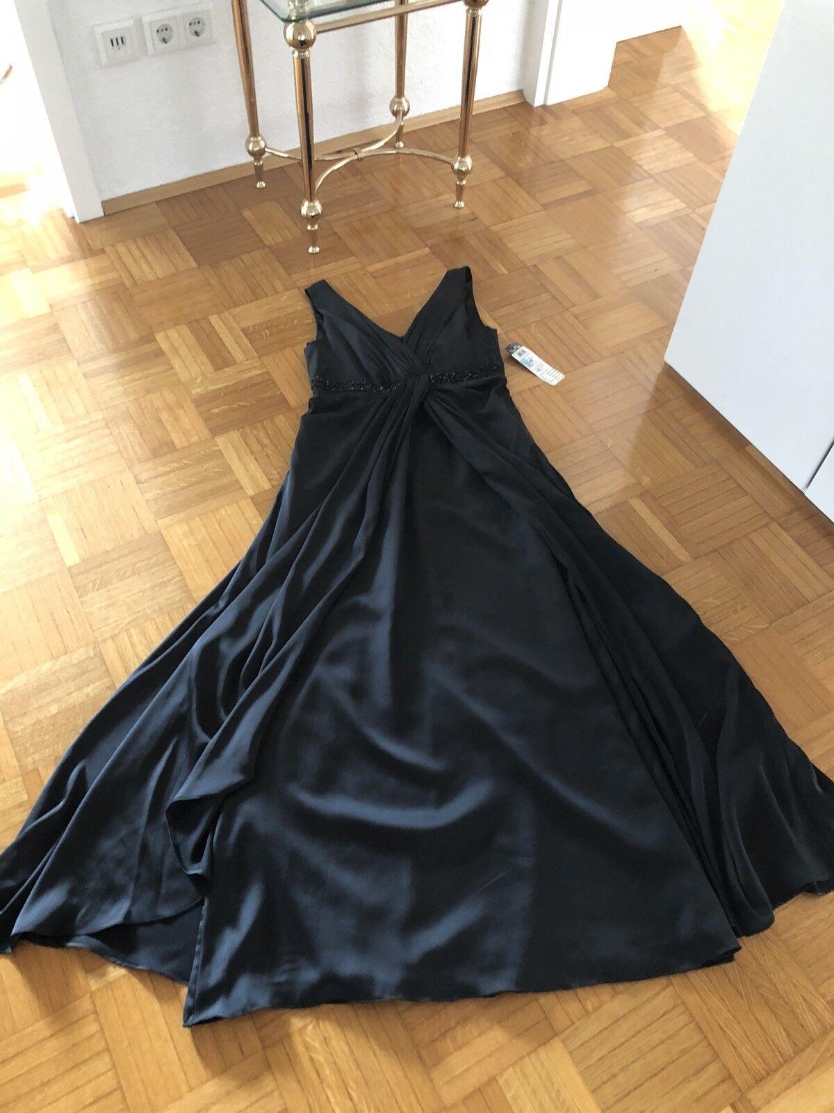 Damen Maxi Kleid Vera Mont Gr. Gr. Gr. 40 schwarz NEU   Abendkleid Steinchen f61885