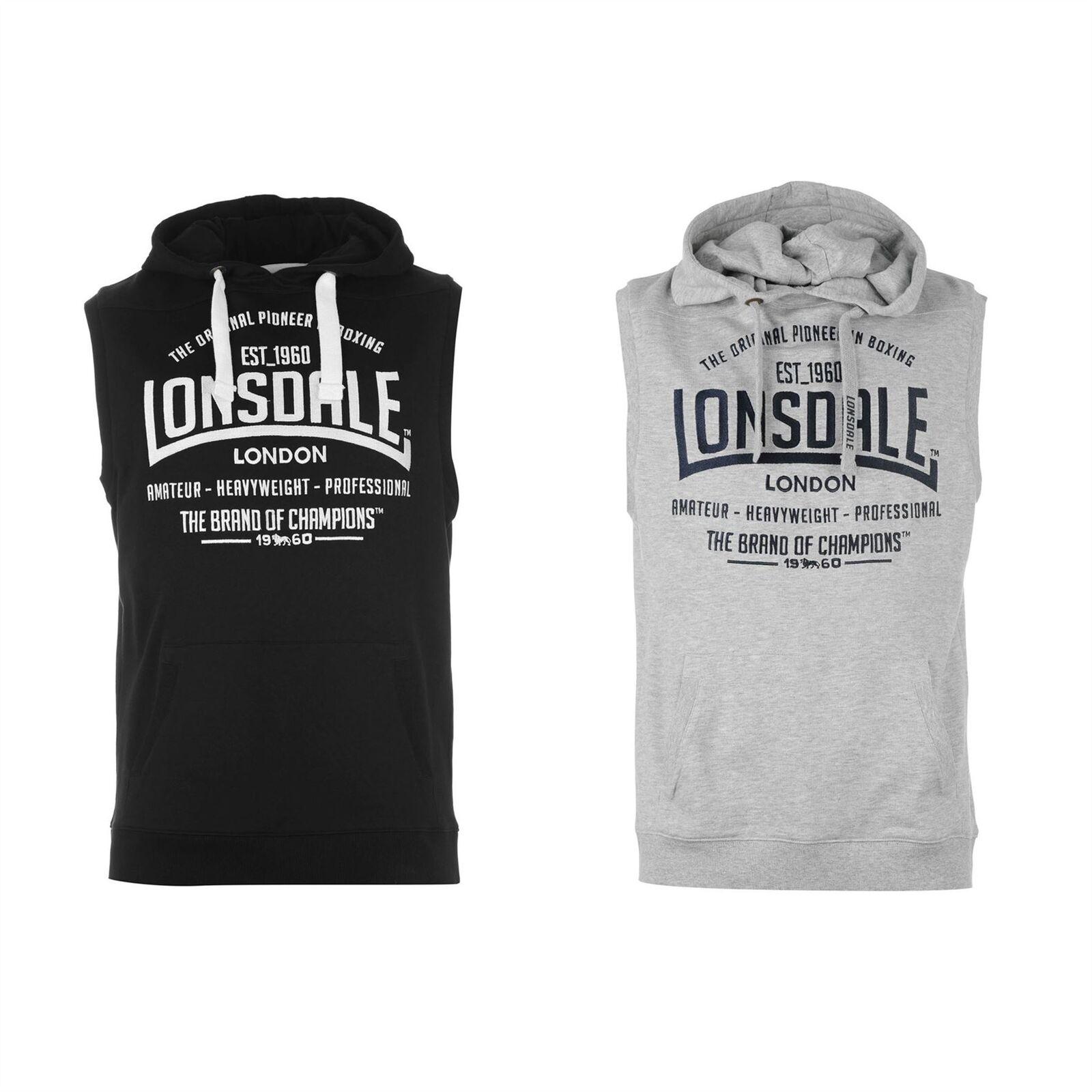 Lonsdale London Box Sleeveless Pullover Hoody  Herren OTH Hoodie Sweatshirt Sweater