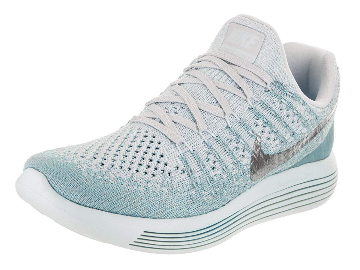 Women's Nike Lunarepic Low Flyknit 2 Running Shoes, 863780 405 Multi Sizes GBlue