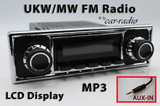 Retrosound Laguna Komplettset Smooth Oldtimer Radio MP3 AUX-IN L308410B078039