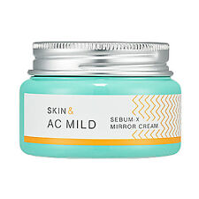 [HOLIKA HOLIKA] Skin & AC Mild Sebum-X Mirror Cream 60ml / For acne skin