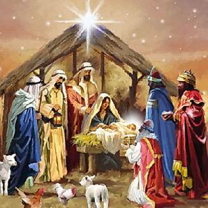 Geburt Jesu Krippe