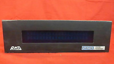 USED Uticor Programmable Message Display 76536-1 REV D O9