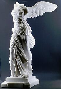 Enumerar recepción Hora  VITTORIA alata Nike di Samotracia Cast Marmo Scultura Statua greca 23.6in    eBay