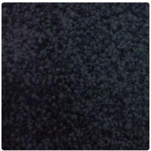 Jet Black Bathroom Carpets Washable