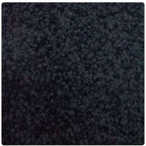 Barbados Jet Black Bathroom Carpets washable waterproof 2 Metres wide
