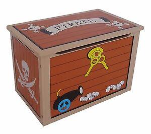 Image Is Loading Kiddi Style Children 039 S Pirate Wooden Treasure