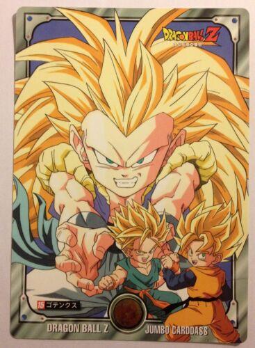 Dragon Ball Z Jumbo Carddass 15
