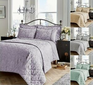 Luxurious-Savoy-Jacquard-Duvet-Cover-Sets-Bedding-Sets-Or-Bed-Spreads-All-Sizes
