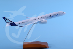 1 200 30CM avión de pasajeros de Airbus A350 Modelo de Avión Avión de Metal Fundido