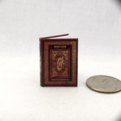 ROMEO AND JULIET A Tragedy By Shakespeare Dollhouse Miniatures 1:12 Scale Book