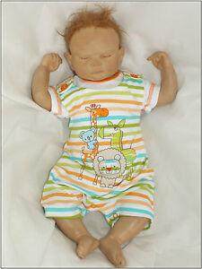 Baby-2-er-verano-Set-Camiseta-CORTO-PETO-Animales-de-rayas-56-62-68