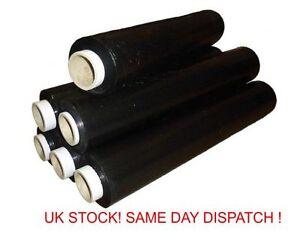 1 X Noir Palette Stretch Wrap Indestrial Forte Même Jour Envoi * Pw-afficher Le Titre D'origine Acheter Maintenant