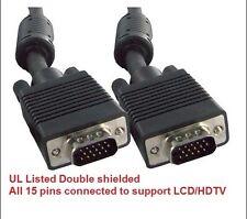 YellowKnife - 15 FT Standard 15-Pin VGA SVGA Male to VGA Male Video Cable