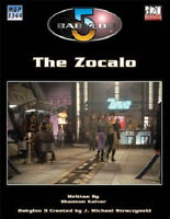 Babylon 5 The Zocalo (mgp3344) D20 Space Science Fiction Rpg (brand New)
