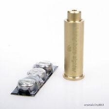 Bore Sighter .38 .357 Rem Cartridge Red Dot Laser Sight Brass Boresighter Y01
